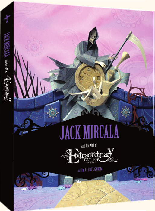 Jack Mircala & the art of Extraordinary Tales